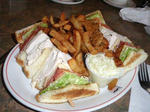 sandwich frites