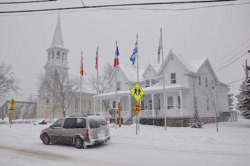 quebec sous neige