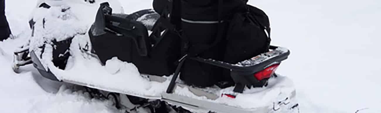 preparatifs moto neige