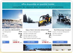 Nouveau catalogue séjours hiver au Canada 2015