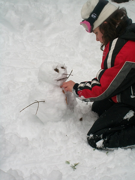 bonhomme de neige au quebec