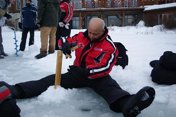 peche sous glace