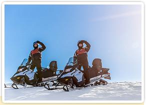 Motoneige Québec : Randonnée motoneige dans les sentiers