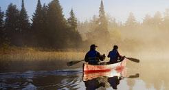 sejour au canada avec canot