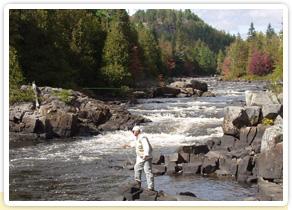 Pêche sportive au Québec durant vos vacances