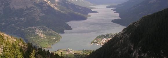 parc waterton-glacier canada