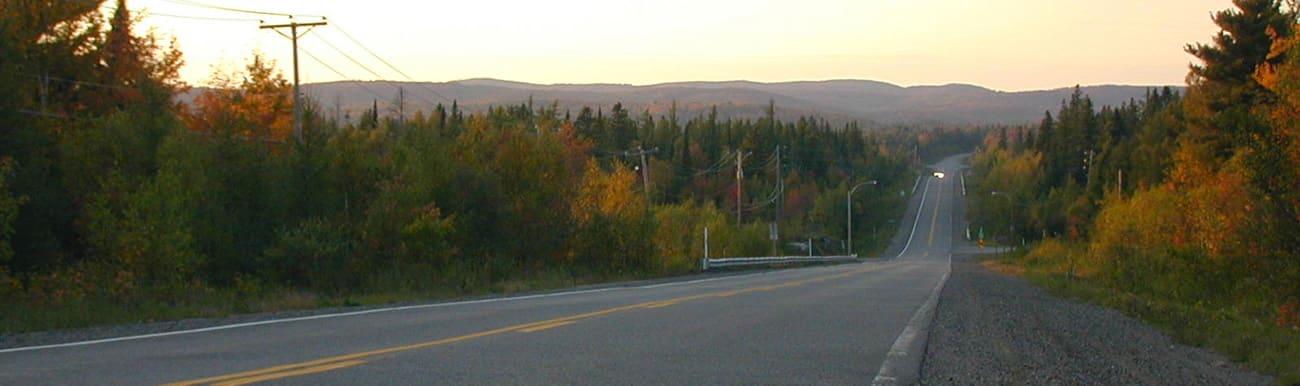 routes touristiques du quebec