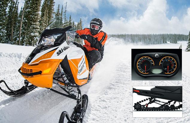 motoneige skidoo renegade adrenaline 2017