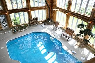 piscine auberge lanaudiere