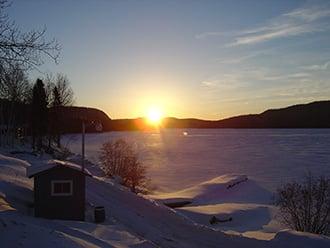 pourvoirie lac hiver