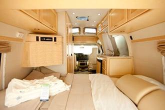 camping car interieur