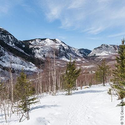 charlevoix hautes gorges neige hiver