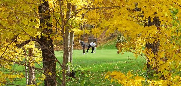 magie du golf au Quebec
