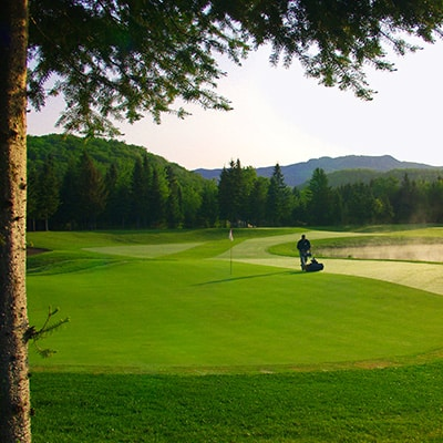 golf diable tremblant