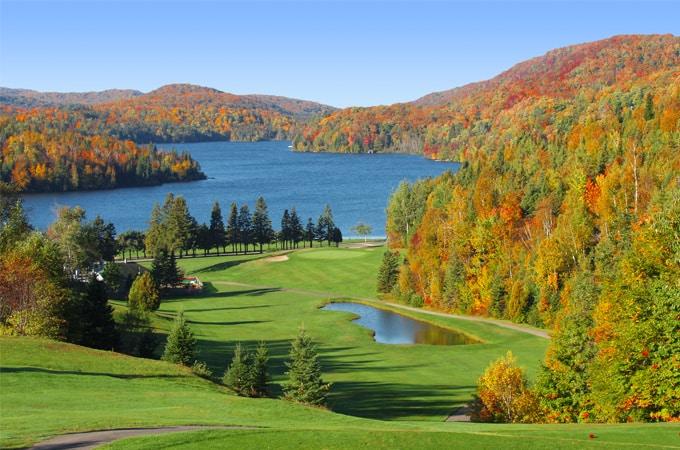 golf automne canada