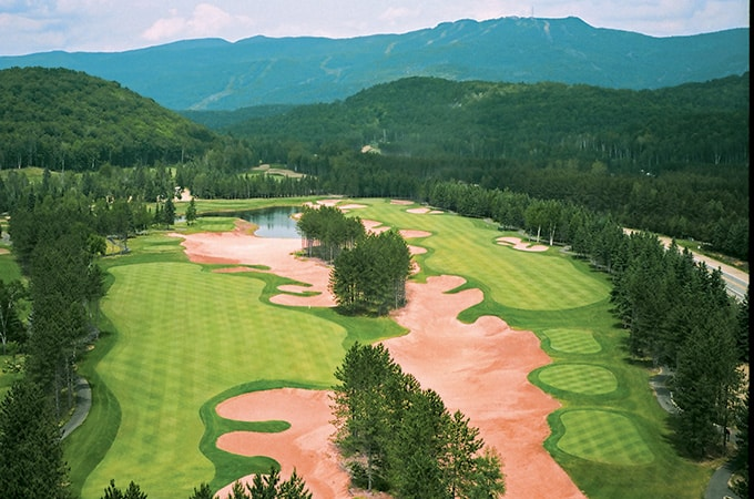 golf tremblant le diable