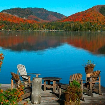 lac automne couleurs