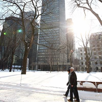 montreal en hiver