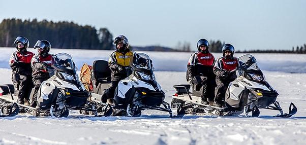 moto neige Québec