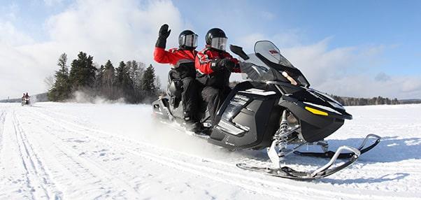 raid moto neige