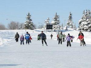 patin a glace au quebec