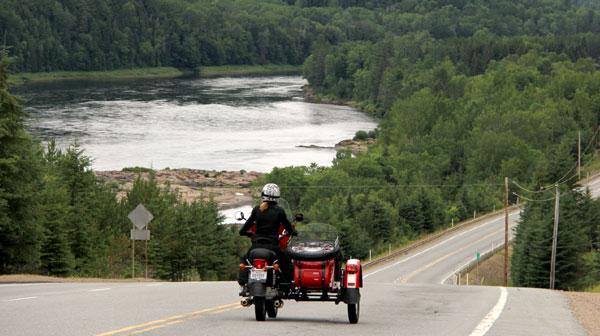 Moto tourisme Québec