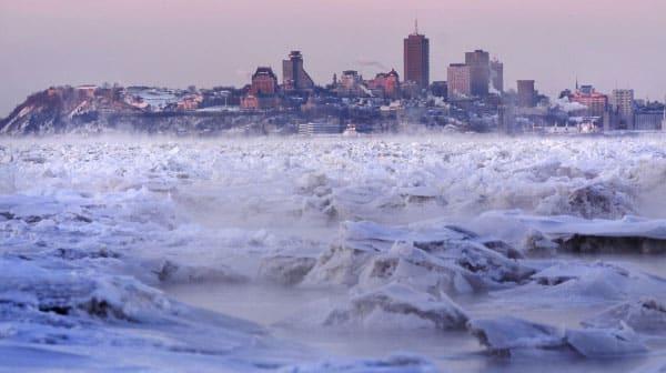 fleuve Saint-Laurent hiver