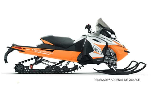 motoneige ski-doo adrenaline 2018
