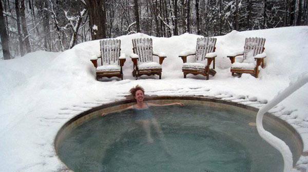 spa hiver au quebec