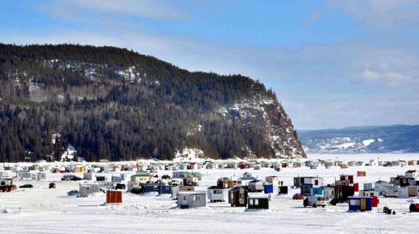 pêche ville de la baie