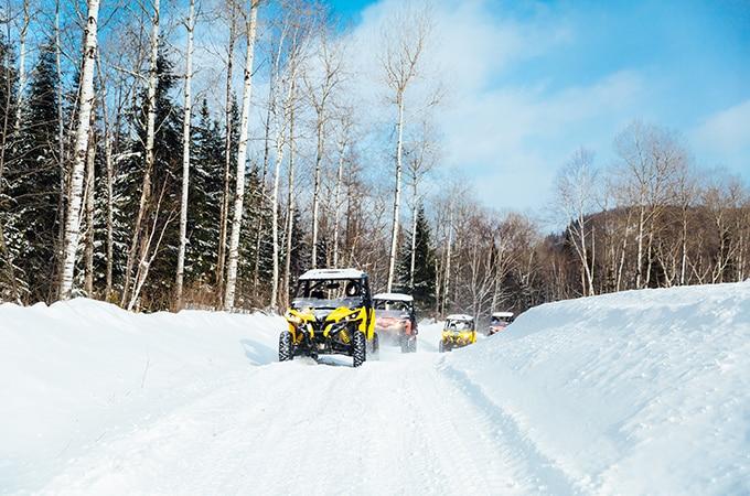 randonnee buggy des neiges