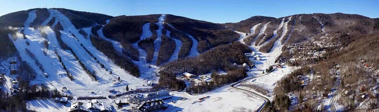 ski alpin au quebec