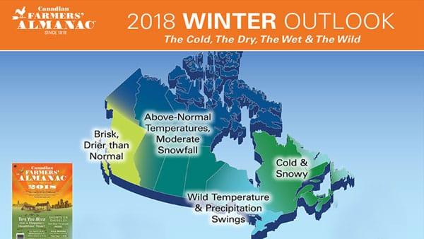 canadian Farmers Almanac 2018