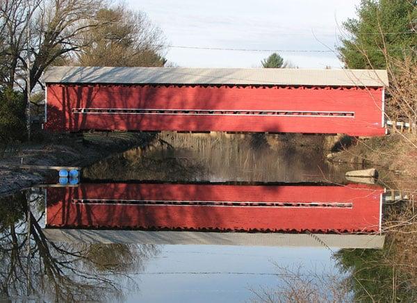 pont couvert decelles