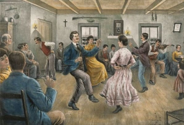 chanson et danse folklorique du quebec