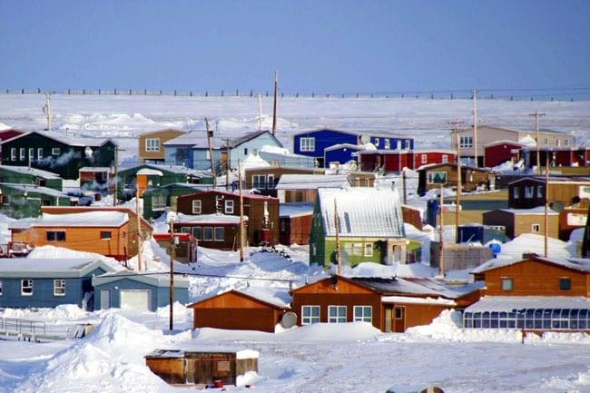 village inuit canada
