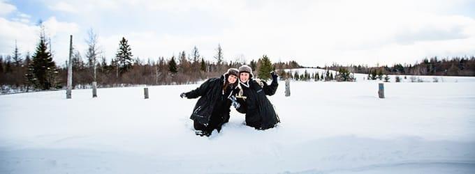 10 choses incroyables l'hiver au canada