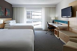 chambre double delta centre-ville montreal