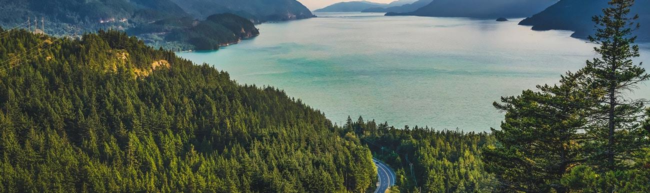 route des lacs au quebec en autotour
