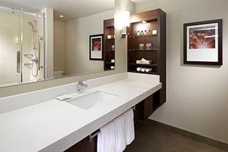 salle de bains delta marriott