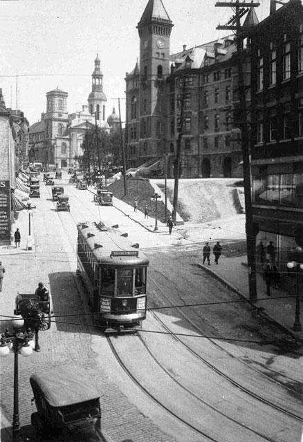 archive tramway ville de quebec