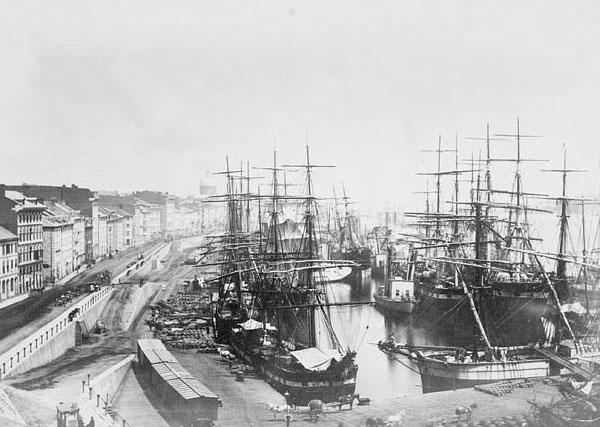 port de Montréal 1874