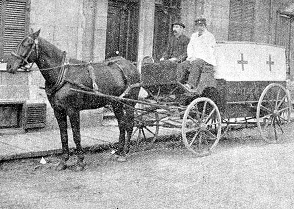Ambulance Montréal en 1896