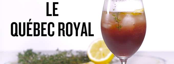 cocktail quebec royal
