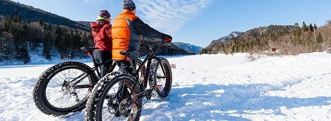 faire du fatbike l'hiver Quebec