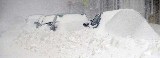 les tempetes de neige