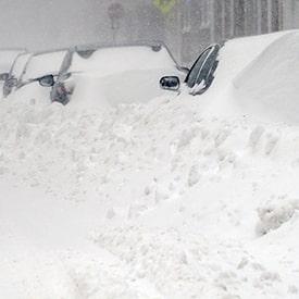 type de tempete de neige au quebec