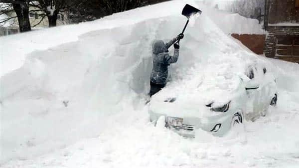 tempête de neige au quebec