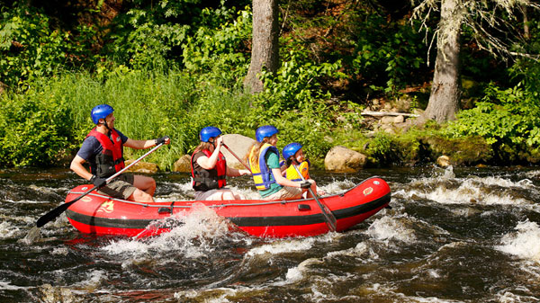 rafting au quebec