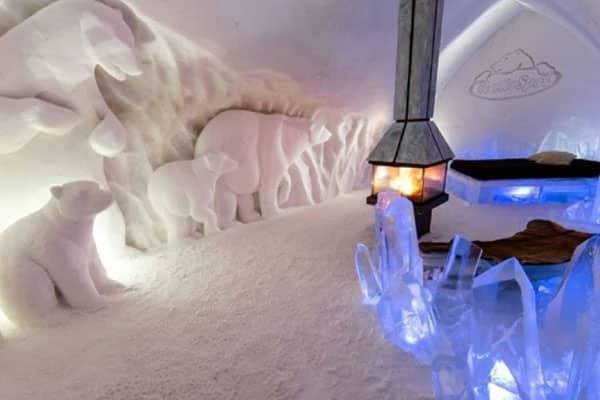 hotel de glace quebec